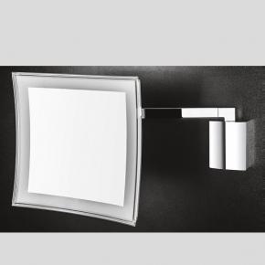 Зеркала косметические с подсветкой увеличением настенные настольные Зеркала с присосками. Colombo Anna зеркало косметическое настенное с LED подсветкой и увеличением х3,5