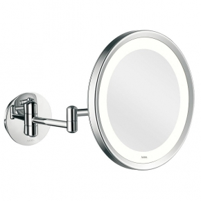 Зеркала косметические с подсветкой увеличением настенные настольные Зеркала с присосками. Aliseo Led Lunatec косметическое зеркало с увеличением х3 и подсветкой двойной шарнир