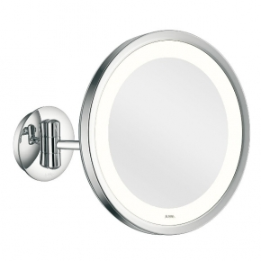 Зеркала косметические с подсветкой увеличением настенные настольные Зеркала с присосками. Aliseo Led Lunatec косметическое зеркало с увеличением х3 и подсветкой