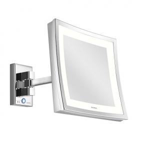 Зеркала косметические с подсветкой увеличением настенные настольные Зеркала с присосками. Aliseo LED CUBIK T3 косметическое зеркало с увеличением Х3 и подсветкой