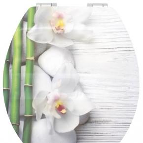 . SPA Glossy Art сиденье с крышкой для унитаза 3D декор