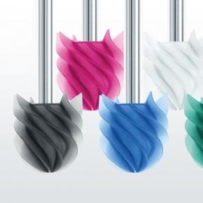 .  Ёршик для унитаза напольный силиконовый цветной необычный Waterclou Clobo Nicol круглый