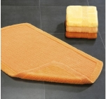 Коврики для ванной комнаты.  Arizona Nicol Хлопковый коврик для ванной комнаты двухсторонний