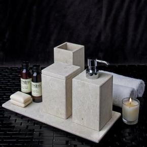 Аксессуары для ванной из натурального камня Лечче Cale