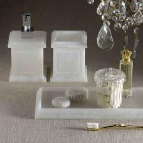Аксессуары для ванной из натурального камня Алебастр Alabaster 4