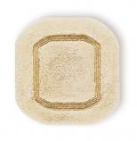 Коврики для ванной комнаты.  Коврик для ванной комнаты CLASSIC Nicol бежевый с люрексом золото/серебро