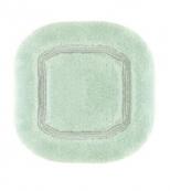 Коврики для ванной комнаты.  Коврик для ванной комнаты CLASSIC Nicol светло-зелёный люрекс золотой серебряный