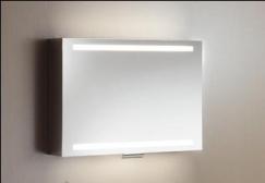 Зеркальные шкафчики Аптечки. Keuco зеркальный шкафчик с подсветкой EDITION 300