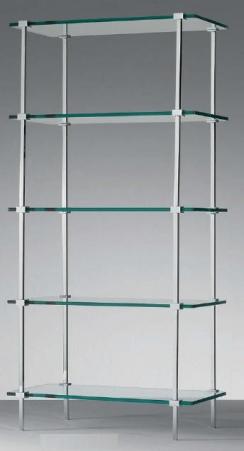 Этажерки для ванной. Glass этажерка для ванной стеклянная 5 полок