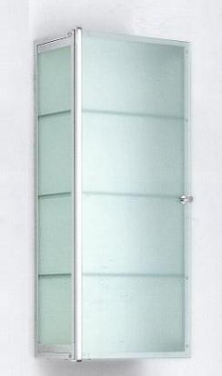 Этажерки для ванной. S3 Этажерка для ванной стеклянная 4 полки