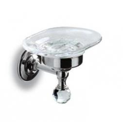 Аксессуары для ванной с кристаллами Swarovski. Аксессуары для ванной с кристаллами Madras Oriente Swarovski мыльница