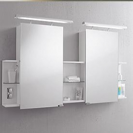 Зеркальные шкафчики Аптечки. Kama зеркальный шкафчик Regio-Double SPRD