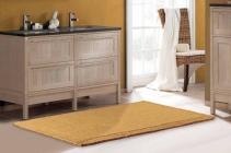 Коврики для ванной комнаты.  Nicol коврик для ванной хлопковый Золотой