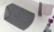 Коврики для ванной комнаты.  Twins Nicol коврик для ванной комнаты двухсторонний хлопковый