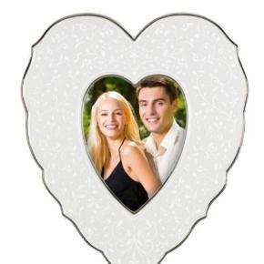 . Рамка-сердце для фото Чистый опал