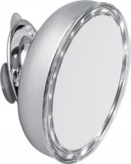 . LILLY Nicol зеркало косметическое с подсветкой LED настенное с увеличением 1х8 присоски