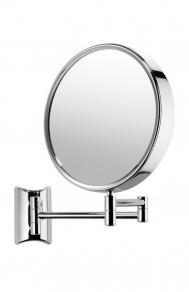 . Lola Nicol косметическое зеркало настенное двухстороннее с увеличением 1х3 и 1х10