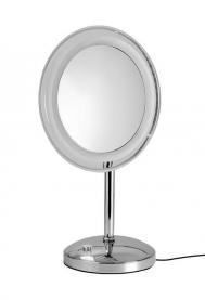 . MARIELLA Nicol зеркало с подсветкой LED косметическое настольное с 5-ти кратным увеличением