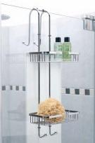 Полки для душа Сетки Полки для ванной стеклянные Полки для полотенец. NERO Nicol полка сетка для душевой кабины двойная с крючками