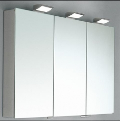 Зеркальные шкафчики Аптечки. Keuco зеркальный шкафчик с подсветкой Royal 35