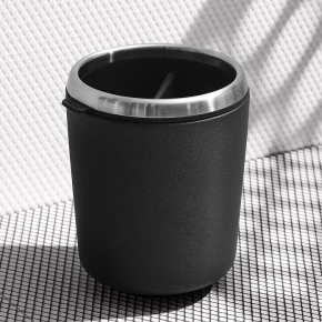 . Steel стакан для щёток чёрный белый