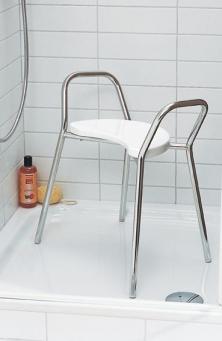 Банкетки для ванной Пуфы Интерьерные Табуреты для ванной и душа Откидные сиденья. LENA Nicol табурет для душа ванной комнаты и душевой кабины