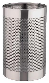 . Ведро для мусора DAGMAR Nicol металлическое круглое