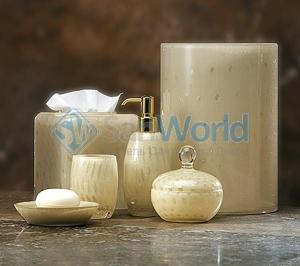 Contessa стеклянные настольные аксессуары для ванной