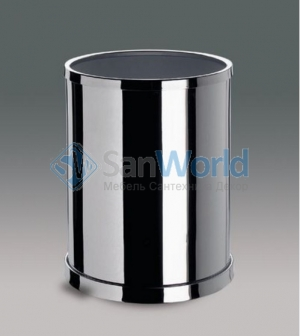 Ведро Windisch круглое без крышки хром Cylinder
