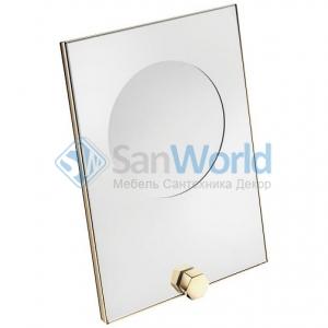Mirage Gold косметическое зеркало с увеличением х3 золотое PomdOr