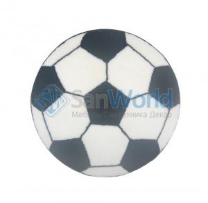 Коврик для ванной комнаты круглый FOOTBOL Nicol Футбольный мяч