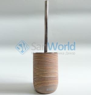 Sonora Nicol ёршик для унитаза напольный из натурального камня Sandstein