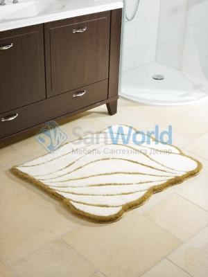 Коврик для ванной комнаты Nicol Yasmin Gold