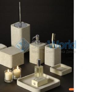 Аксессуары для ванной из натурального камня Лечче Viest комплект
