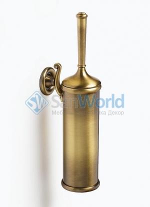 Бронзовые аксессуары для ванной ёршик для унитаза настенный Windsor PomdOr