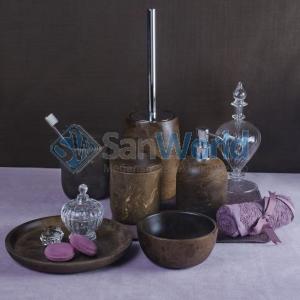 SICILY STONE 2 аксессуары для ванной из натурального камня