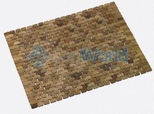 Деревянный коврик для ванной и душевой кабины Teack тиковый