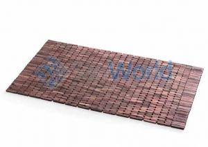 Деревянный коврик-мат для ванной Розовое дерево