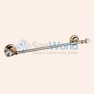 Полотенцедержатель 49 см TW Crystal TWCR113oro/sw