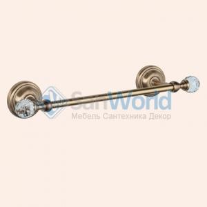 Полотенцедержатель 35,5 см TW Crystal TWCR014br/sw
