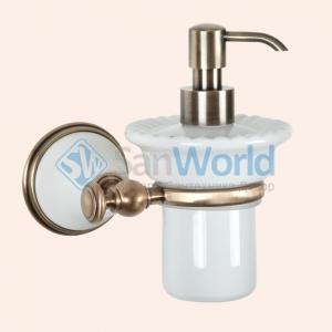 Подвесной дозатор для жидкого мыла TW Harmony TWHA108bi/br