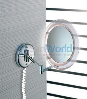 Marie Nicol косметическое зеркало с подсветкой LED настенное с 5-ти кратным увеличением