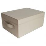 Pinetti Ares кожаная коробка универсальная ёмкость таупе