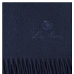 Плед UNITO кашемировый 150x200 см Dark Indigo