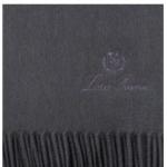 Плед UNITO кашемировый 150x200 см Graphite
