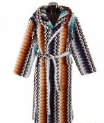 Халаты Одежда для бани и сауны Deluxe. Халат с капюшоном Niles бирюзовый