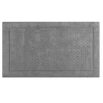 Коврики для ванной комнаты. Коврик 51х81 Sublime Anthracite SLM-510-ANT