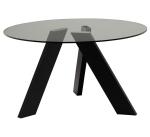 Нераскладные столы. Стол обеденный Orsina Chrome Legs
