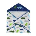 Полотенце банное с уголком детское Bambini Hooded Dino Park BHD-DP-MUL