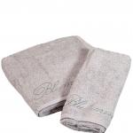 Комплект полотенец 1+1 Top Model Серебро от Blumarine Art.78572-13